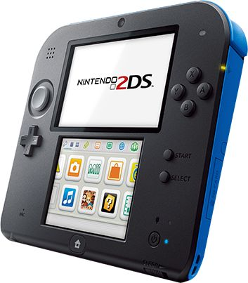 Nintendo 2DS blue for Bella's birthday.