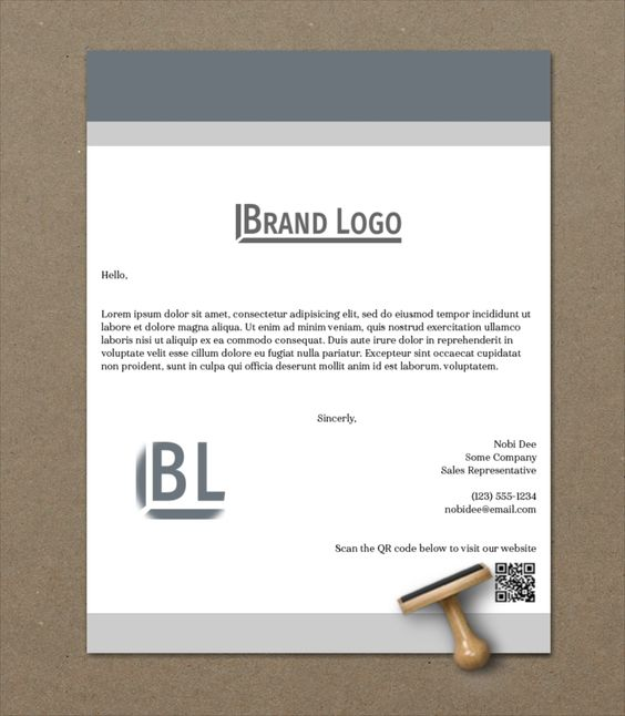 Download Free Mockup - Letter Paper Stationary - Stationary Photoshop Mockup