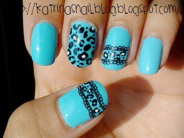 konad leopard mani