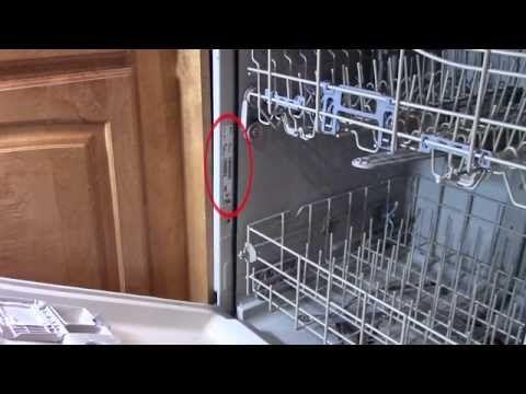 Dishwasher repair - Leaking from bottom of door - troubleshooting Whirlpool - YouTube AdamDIY explains how & when to replace the door gasket