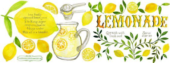 Lemonade by Mitzie Testani