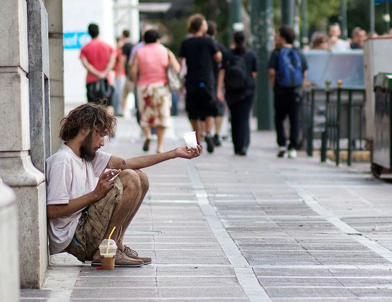 Poverty is Greece may rise to 40 percent by the end of the year.