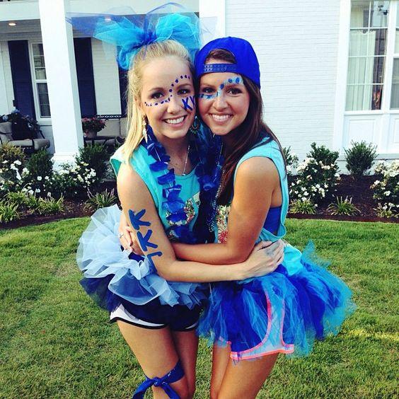So Much Blue! Kappa Kappa Gamma At University Of Arkansas. Bid Day. | Sorority Edition [ Bid Day ...