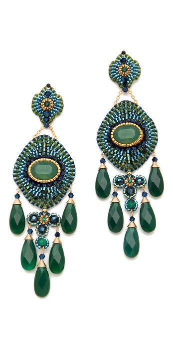 Miguel Ases Earrings: