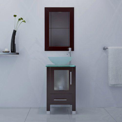 Vessel Sink Bathroom Vanity, 18 Inch Bathroom Vanity With Vessel Sink