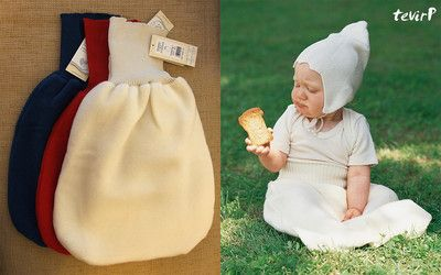 """beautiful wool sleepsack """"pouch style"""" boy do I ever need some sunggy soft wool sweaters to make some of these wool projects :)"""