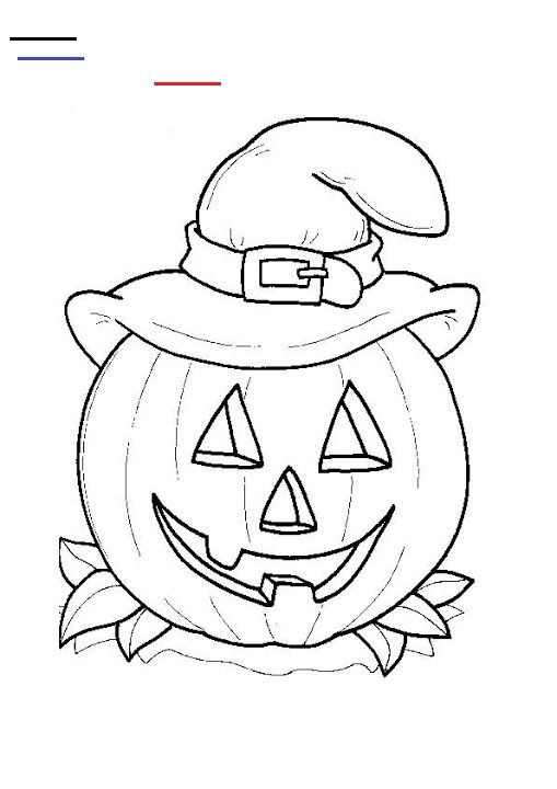 24 Free Printable Halloween Coloring Pages For Kids - Print Them All! - # Halloween… Free Halloween Coloring Pages, Pumpkin Coloring Pages, Halloween  Coloring Book