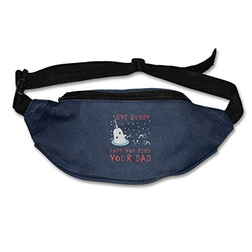 Unicorn Cupcake Funny Sport Waist Pack Fanny Pack Adjustable For Hike