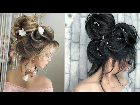 تسريحات شعر بنات جديدة ومذهلة 2020 للاعراس والحفلات والمناسبات بسيطة لاكنها رائعة Youtube Cabelo