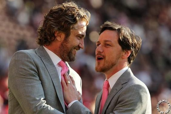Gerry & James MacAvoy, Soccer Aid