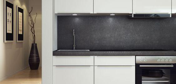 Arbeitsfläche \ Designobjekt Kombinierbar mit allen Küchenstilen - küchenarbeitsplatten online kaufen