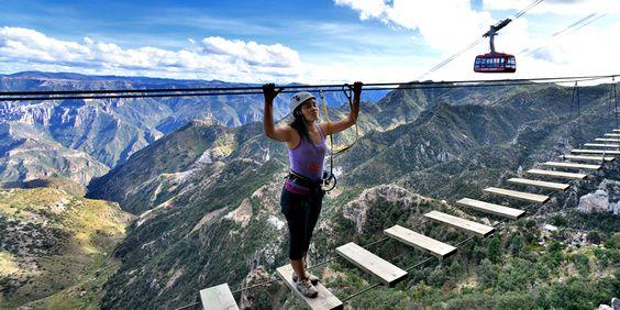Viajar a las Barrancas del Cobre, en la Sierra Tarahumara, es una experiencia inigualable de encuentro con la fuerza de la naturaleza, en su máximo esplendor.