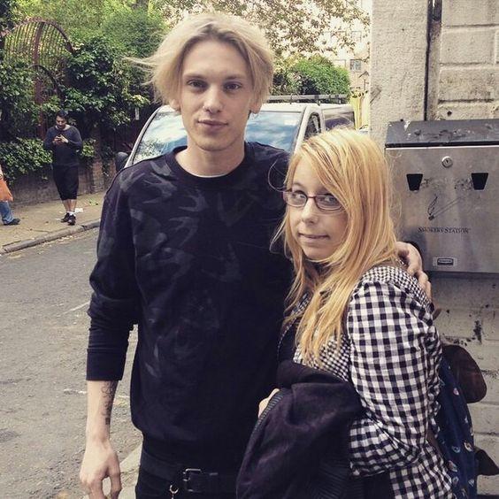With a fan