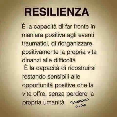 Resilienza: