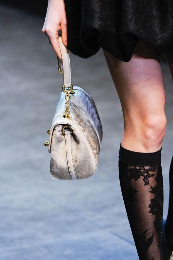 Dolce & Gabbana 2013 ~ Knee high lace socks ~ Fabulous!