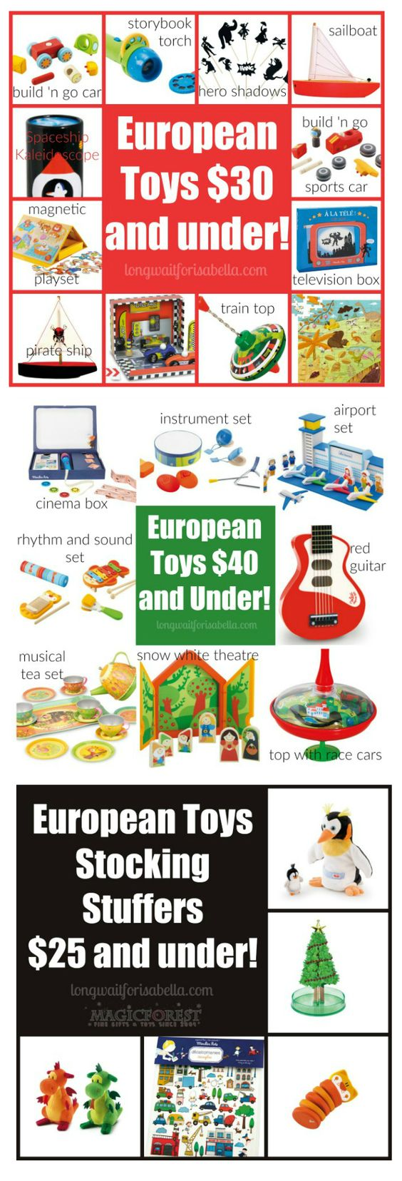 European Toys for Every Budget AD