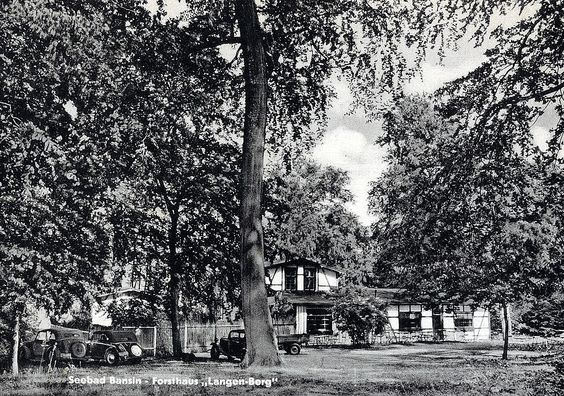 Forsthaus Langenberg in Bansin 1952