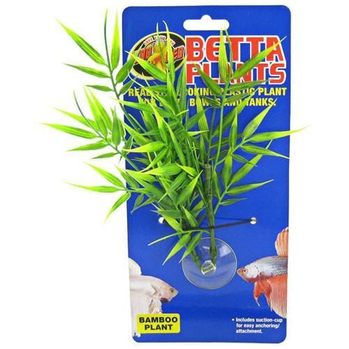 A Naturalistic Bamboo Plant For Your Fish Allows Your Betta