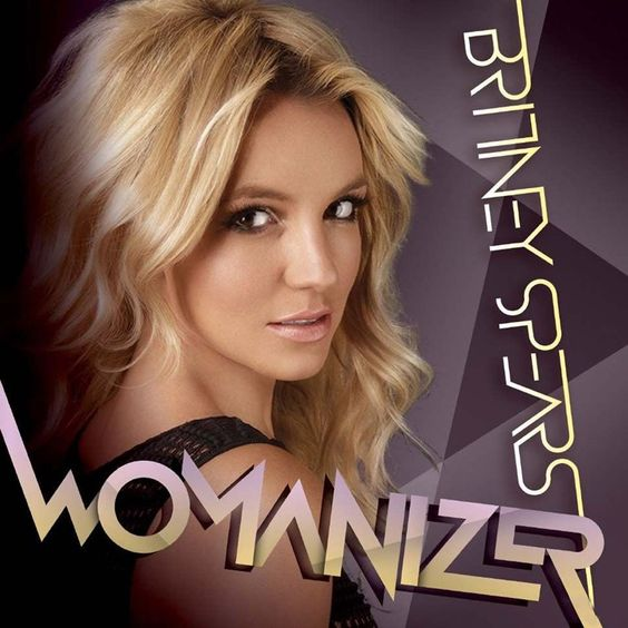 Britney Spears – Womanizer (single cover art)