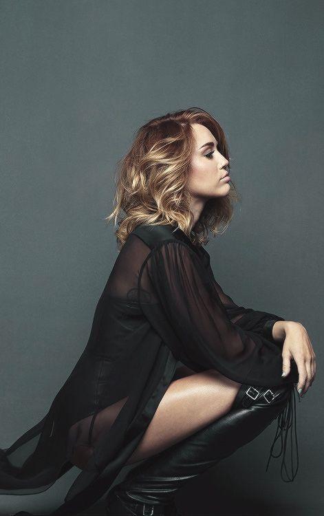 Miley Cyrus, Brian Bowen Smith photoshoot in 2012