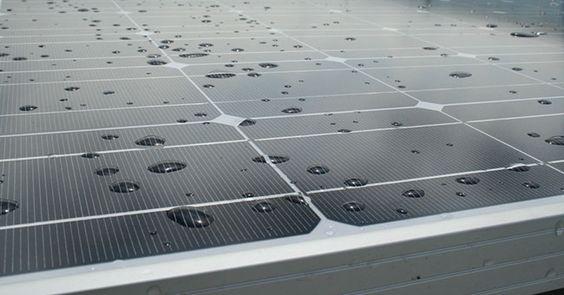 Cella solare produce energia dalla pioggia, in arrivo dalla Cina