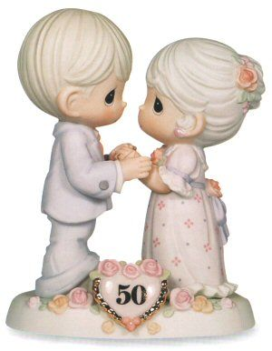 Precious Moments We Share A Love Forever Young - 50 Year Anniversary @collectibleshopping.com