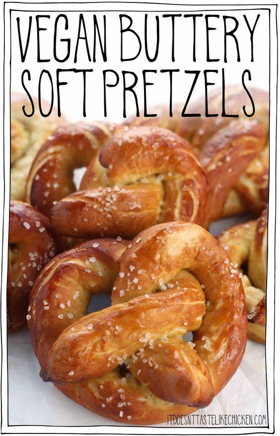 Vegan Buttery Soft Pretzels
