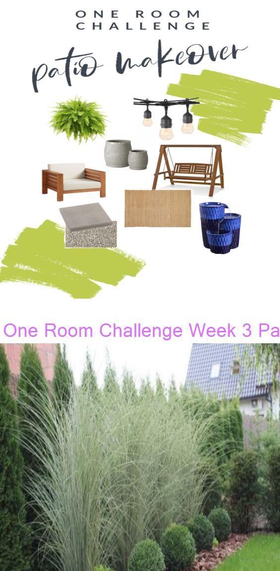 One Room Challenge Week 3 Patio Update Eryn Whalen Online 38 Amazingly Green Front Yard Backyard Landscaping Ideas In 2020 Backyard Landscaping Front Yard Patio One room challenge week 3