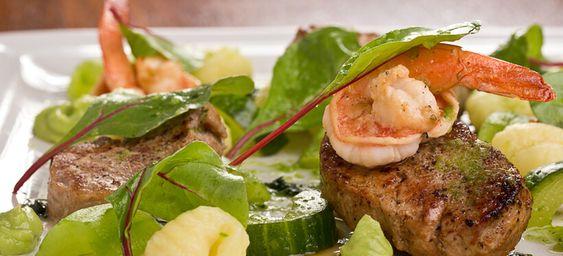 Surf and Turf Salad