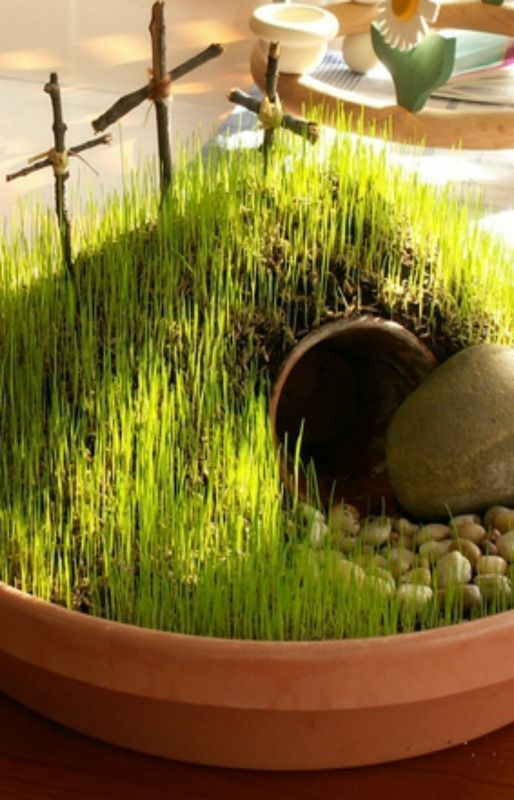 DIY Mini Resurrection Garden