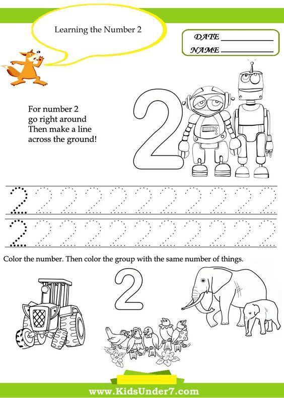 Number Names Worksheets number practice for kindergarten : Kid, Number worksheets and Kindergarten on Pinterest