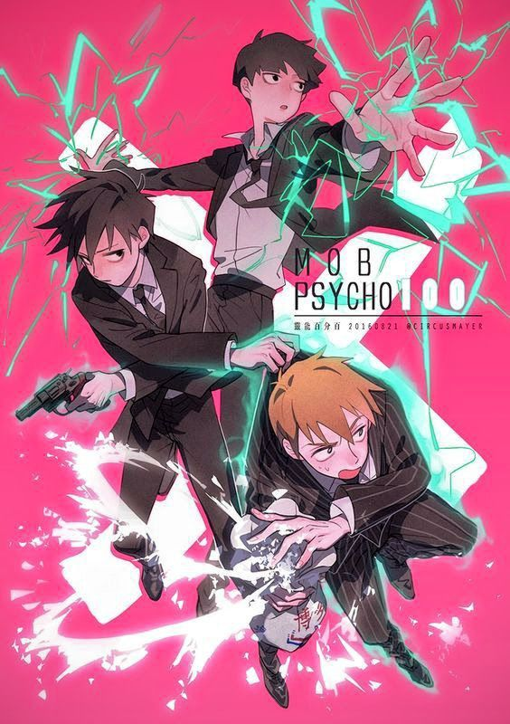 Pin by Emi Naomi on Mob Psycho 100% | Psycho 100, Mob psycho