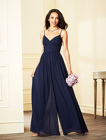 Alfred Angelo jumpsuit in Navy