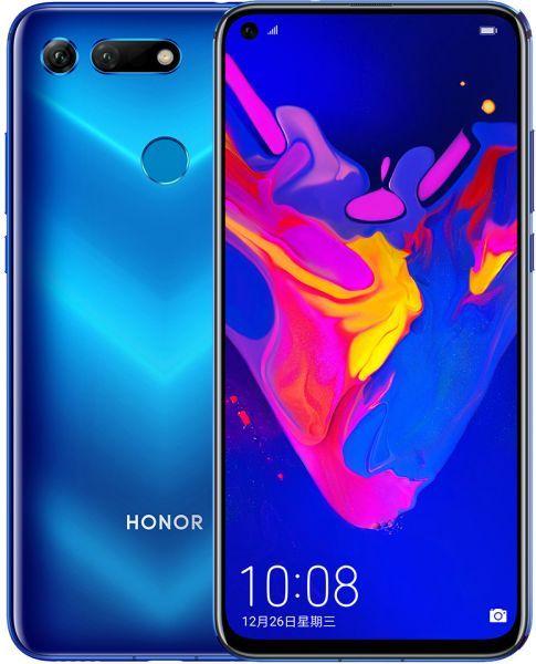 Honor View 20 Dual Sim 256 Gb 8 Gb Ram 4g Lte Phantom Blue Pct L29 Huawei Dual Sim Honor Mobile