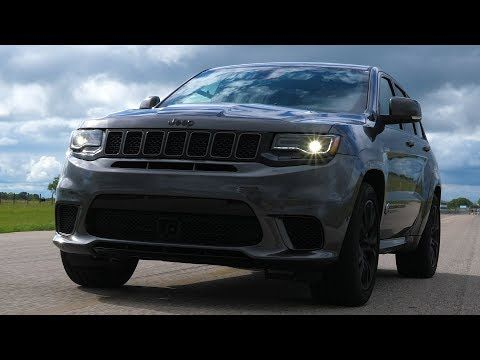 Hennessey Shows What 1 000 Hp Jeep Grand Cherokee Trackhawk Can Do Jeep Jeep Grand Jeep Grand Cherokee