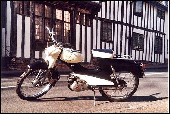 Ambassador moped - 1961