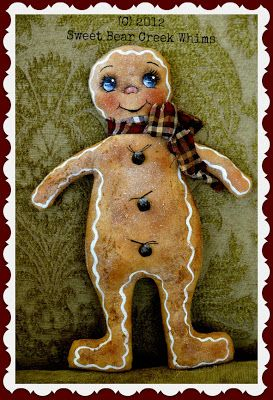 Sweet Bear Creek Whims Happenings...: Tutorial ~ How I Finish My Gingers