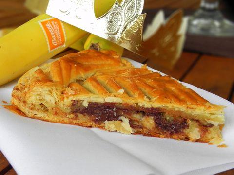 Galette des Rois bananes et chocolat pays - Ma cuisine créole
