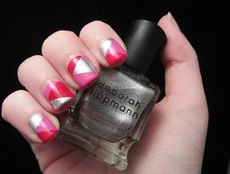 Follow the Trend With Colorblocked Nails!