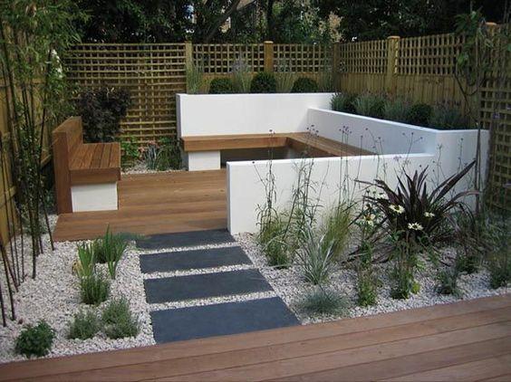 gartenideen für kleine gärten - tolle designvorschläge, Garten und Bauen