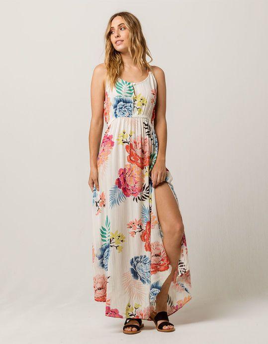 Rip Curl Delilah Maxi Dress Dresses Tropical Dress Knit Dress