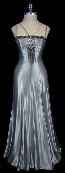 1930s evening dress via The Frock