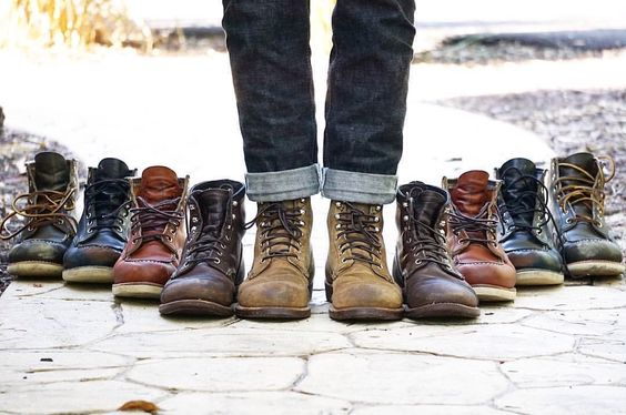 Red Wing Shoes Owners Club | gersdenim:   I only have two pots and one pair of...