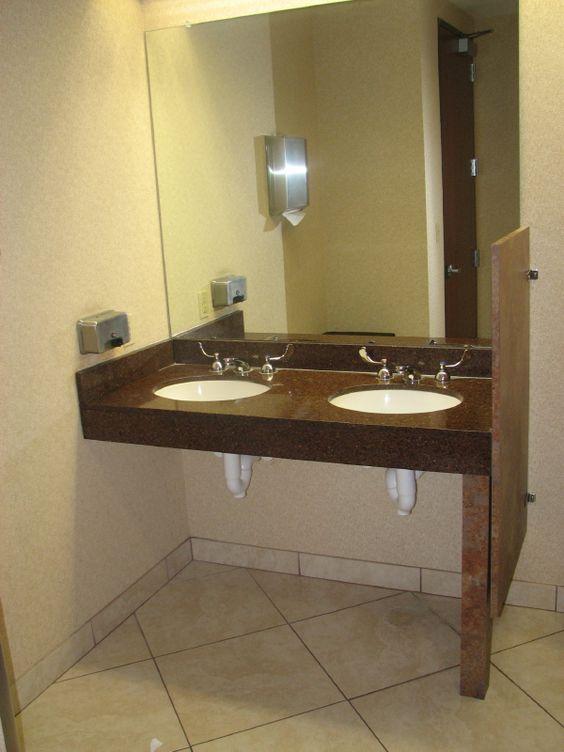 Bathroom Vanities #HandicapVanities >> See more at http://www ...