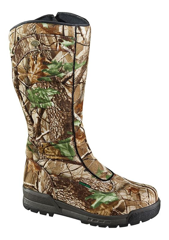 RedHead® Bayou Zip Camo Waterproof Non-Insulated Snake Boots for ...