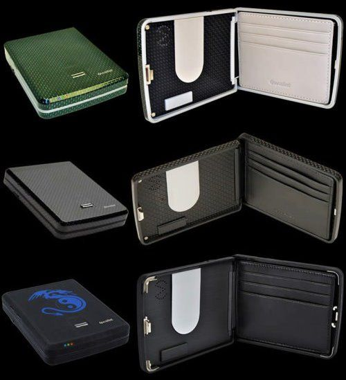 Iwallet Smart Wallet With Bluetooth And Fingerprint Reader Smart Wallet Wallet Fingerprint