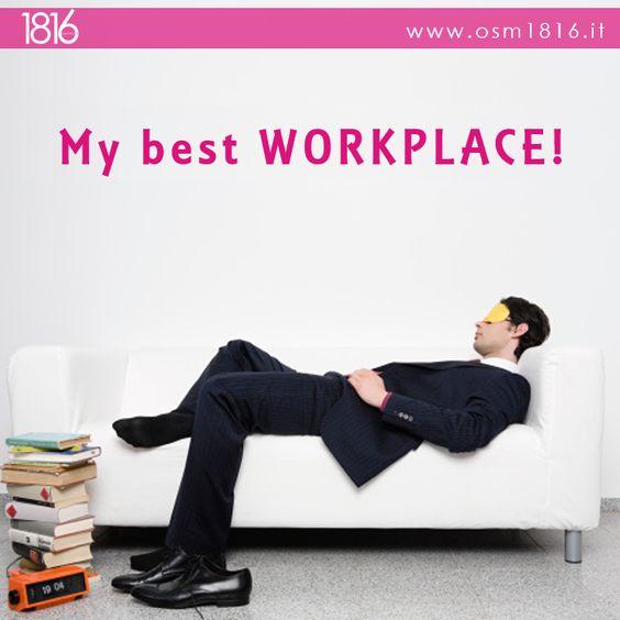 Scopri quali sono i migliori ambienti di lavoro in Italia al seguente link http://bit.ly/1x0K4Ql. Se anche tu vuoi rendere la tua #azienda un perfetto ambiente di #lavoro, contattaci per richiedere 2 ore di consulenza gratuita a info@osm1816.it o telefona al n. 0342 970618.