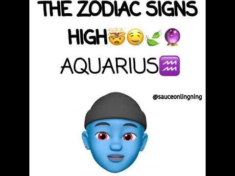 Different Types Of Zodiac Sign When Their High Must See Youtube Zodiac Signs Funny Zodiac Funny Zodiac Signs
