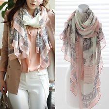 Fashion Women Long Cotton Scarf Wrap Ladies Shawl Girls Large Silk Scarves New: