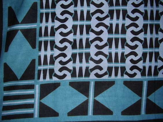 "African Print Tapestry Cotton Spread 106"" x 70"" Twin Teal"